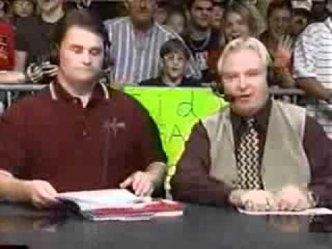 """WCW """"Monday Nitro"""": Bobby """"The Brain"""" Heenan Says Goodbye to Gorilla Monsoon"""