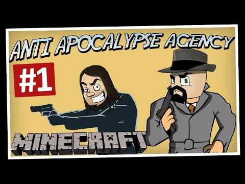 SUPERAGENTERNA! | Anti Apocalypse Agency (Minecraft)