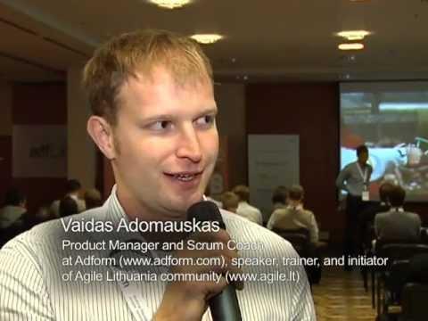 Agile Turo Vilnius 2011 konferencijos pranešimų video