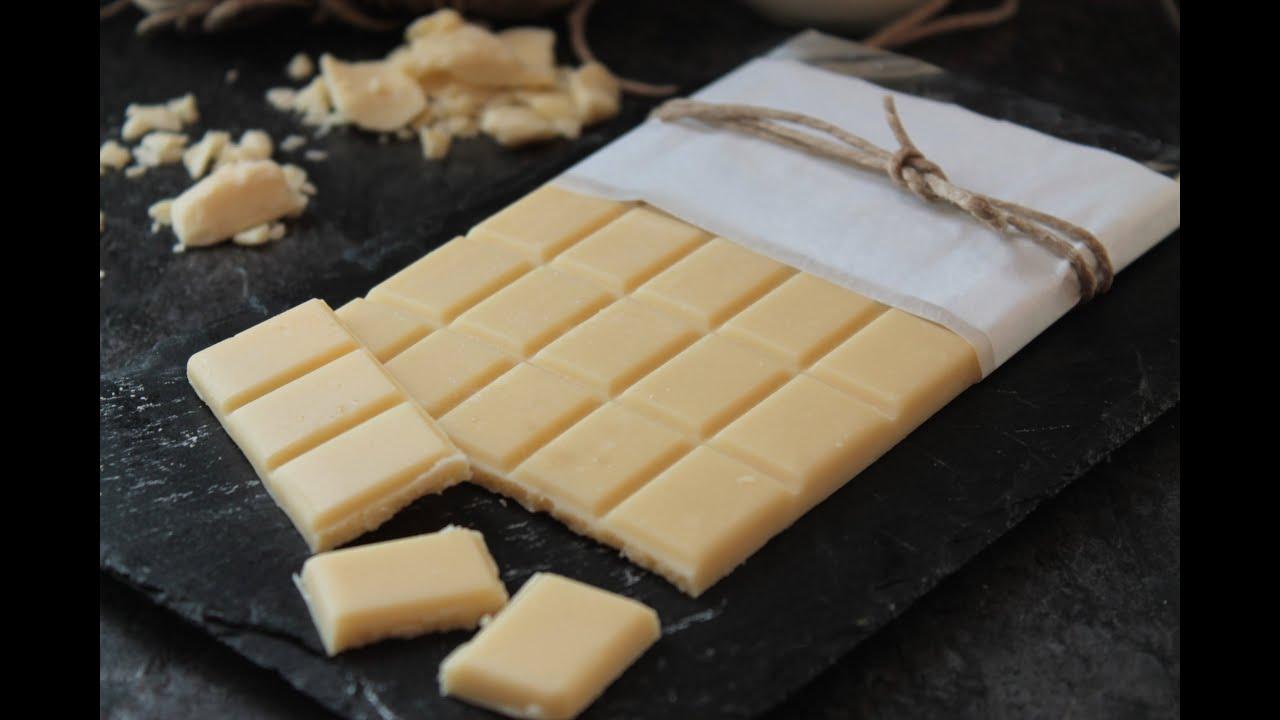 C mo hacer chocolate blanco casero sin lactosa o vegano for Como hacer crepes de chocolate