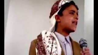 مواهب يمنيه مدفونه ادهشني ببلبه لسانه وروعه كلامه 2016