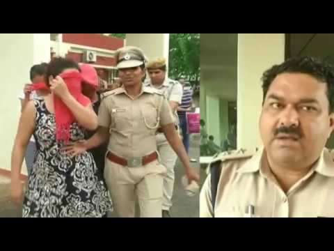 Live Video of Police Raid and Caught Girls and Boys From Spa Center a at Gurgram