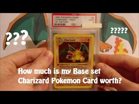 how much is my base set charizard pokemon card worth youtube. Black Bedroom Furniture Sets. Home Design Ideas