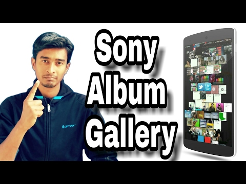 How to Install | Sony Gallery Album | In Any Android Device | Easy Steps | Hindi | 3d Gallery itech