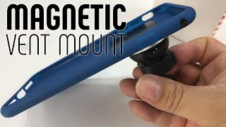 Magnetic Car Vent Mount for Cell Phones by Patchworks Review