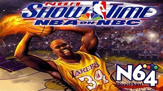 NBA Showtime : NBA on NBC - Nintendo 64 Review - Ultra HDMI - HD