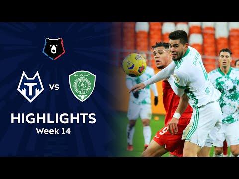 FC Tambov Akhmat Grozny Goals And Highlights