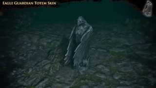 Path of Exile - Eagle Guardian Totem Skin