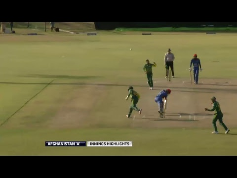 "South Africa ""A"" vs Afghanistan ""A"" Tri-series(Live),Assupol Tuks Oval."
