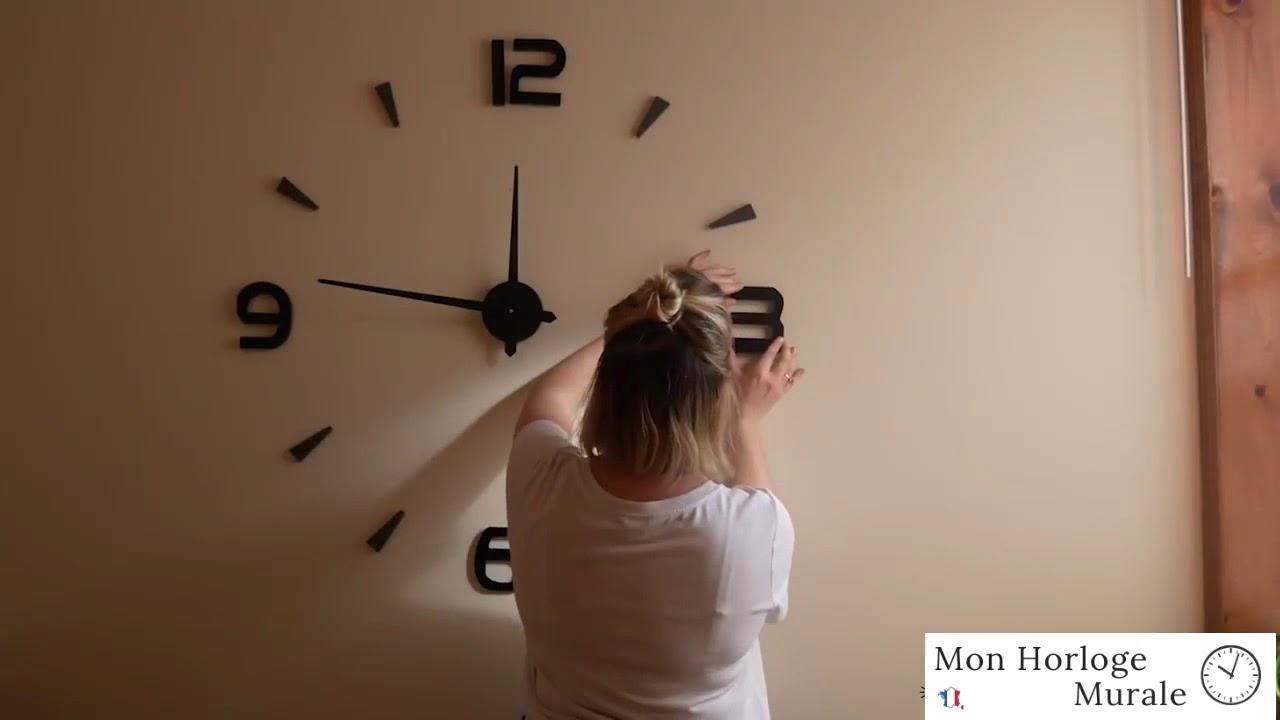 100 Incroyable Concepts Comment Installer Une Horloge Murale