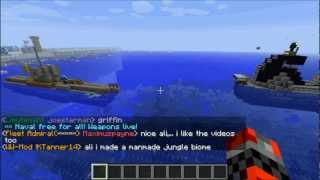 Minecraft Naval battle zone Lets Play #2