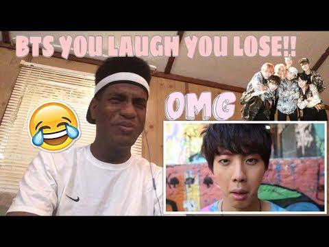 """BTS """"You Laugh = You Lose"""" Challenge Reaction"""