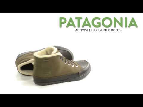 Patagonia Activist Fleece-Lined Boots - Waterproof (For Men)