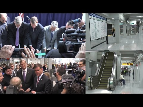 Re-opening of Government Center - Ribbon-Cutting Ceremony