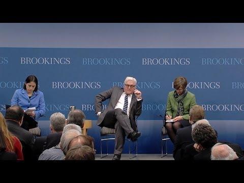 Transatlantic Ties for a New Generation: A Statesman's Forum with Frank-Walter Steinmeier