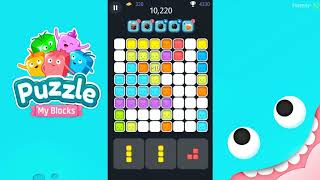 Fun Games Puzzle My Blocks. Games for Kids.