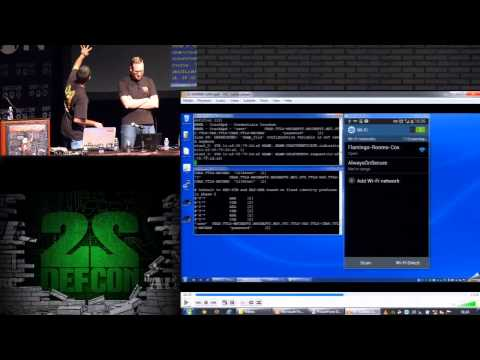 DEF CON 22 - Dominic White and Ian de Villiers - Manna from