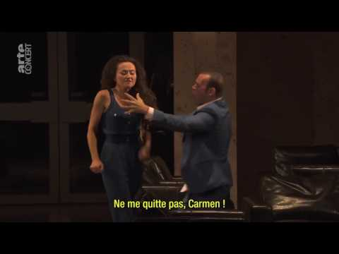 Finale, Carmen:  Stephanie d'Oustrac, Michael Fabiano