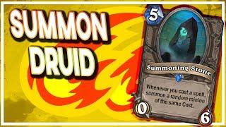 Hearthstone: Summoning Druid