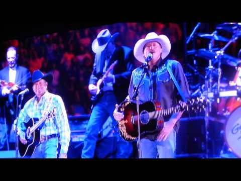 George Strait and Alan Jackson sing Murder on music row