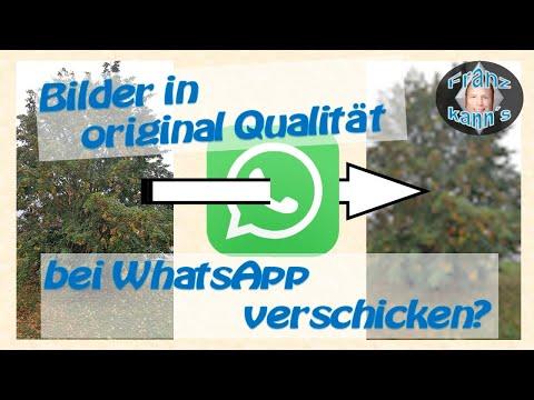 Bilder bei Whatsapp