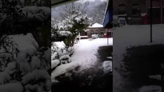 Abana karlar altında