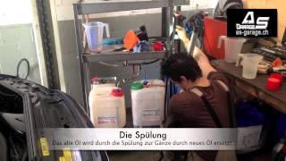 Automatikgetriebe Spülung nach der Tim-Eckart Methode in der Schweiz