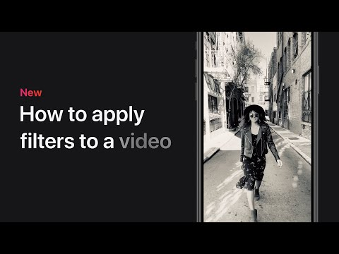How To Apply Filters To A Video On IPhone, IPad, And IPod Touch – Apple Support