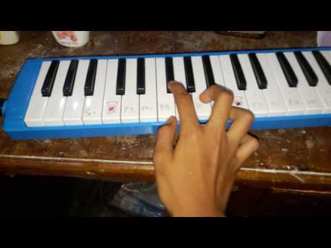 Main pianika lagu gugur bunga dari fadli