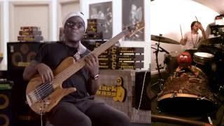 Richard Bona Markbass Video + DRUMS (Patrick Simard)