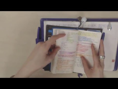 Why and how I use two planners (work and personal)