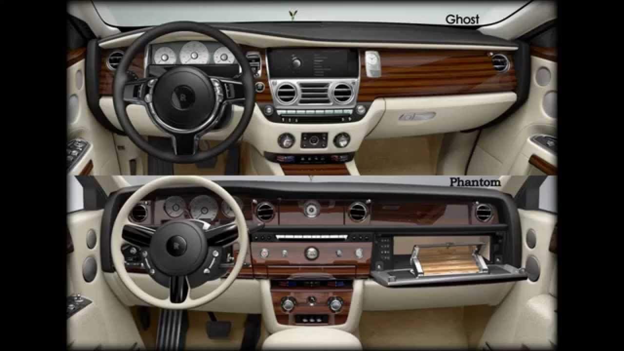 rolls royce phantom vs ghost interior and exterior pics. Black Bedroom Furniture Sets. Home Design Ideas