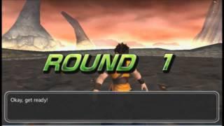 Gameplay Dragon Ball Evolution PSP