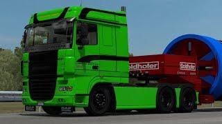[1.32] Euro Truck Simulator 2   DAF XF 105 Reworked v2.5   Mods