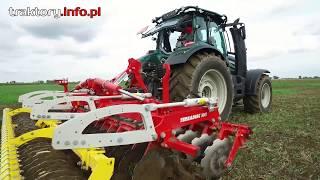 Traktory VALTRA w kilku przejazdach po polu