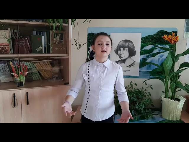 Изображение предпросмотра прочтения – ЕкатеринаХандогина читает произведение «Мы с вами разные» М.И.Цветаевой