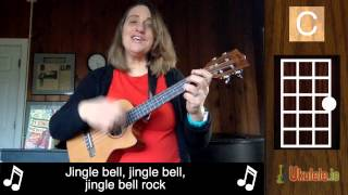 Jingle Bell Rock Ukulele Tutorial Chords - 21 Songs in 6 Days: Learn Ukulele the Easy Way