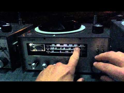 Let's Listen To LF Radio Navigational Beacons Using Vintage RDF Radios