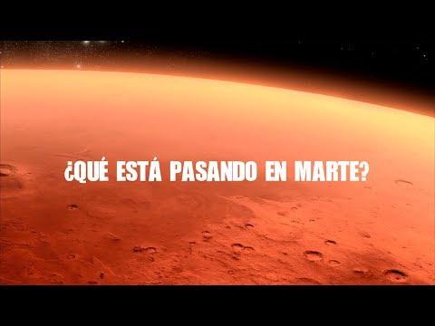 ¿Qué está pasando en Marte?