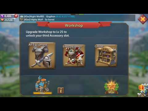 Lords Mobile: Blackwing Gear Set Review!
