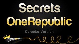 OneRepublic - Secrets (Karaoke Version)