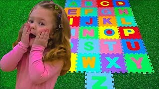 ABC Learn English Alphabet letters for Children with Kids Liza