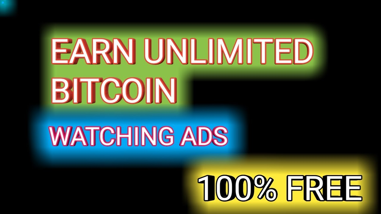 Free bitcoins watch ads nba spread betting explained further