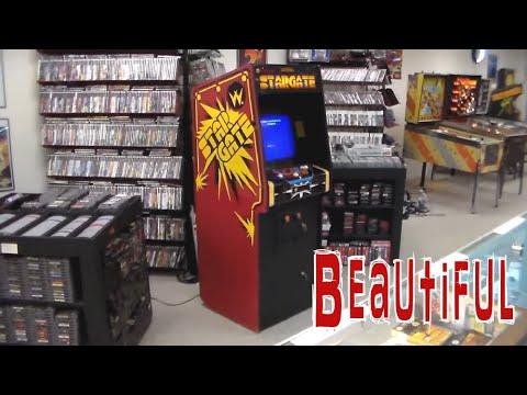 Classic Williams Stargate Arcade Game !  Sequel to Defender...