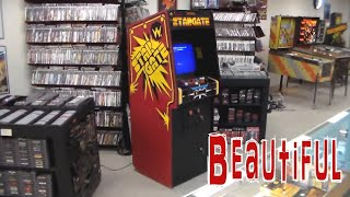 Classic Williams Stargate Arcade Game !  Sequel to Defender...
