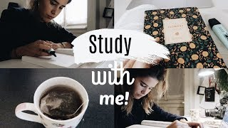 Study With Me | AliLuvi