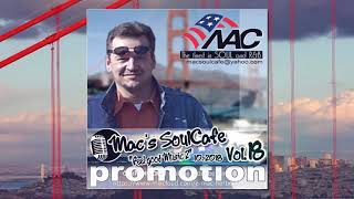 Mac`s SoulCafe, Vol.18,  The finest in Soul, Funk and RnB
