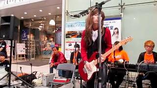 2017/06/04とっておきの音楽祭@山野楽器ロックイン仙台店前にて。メン...