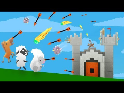 WHO WILL BE KING OF THE CASTLE? (Ultimate Chicken Horse)