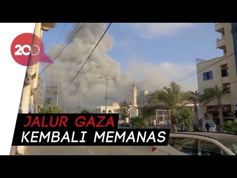 Israel Bombardir Jalur Gaza, 2 Warga Palestina Tewas